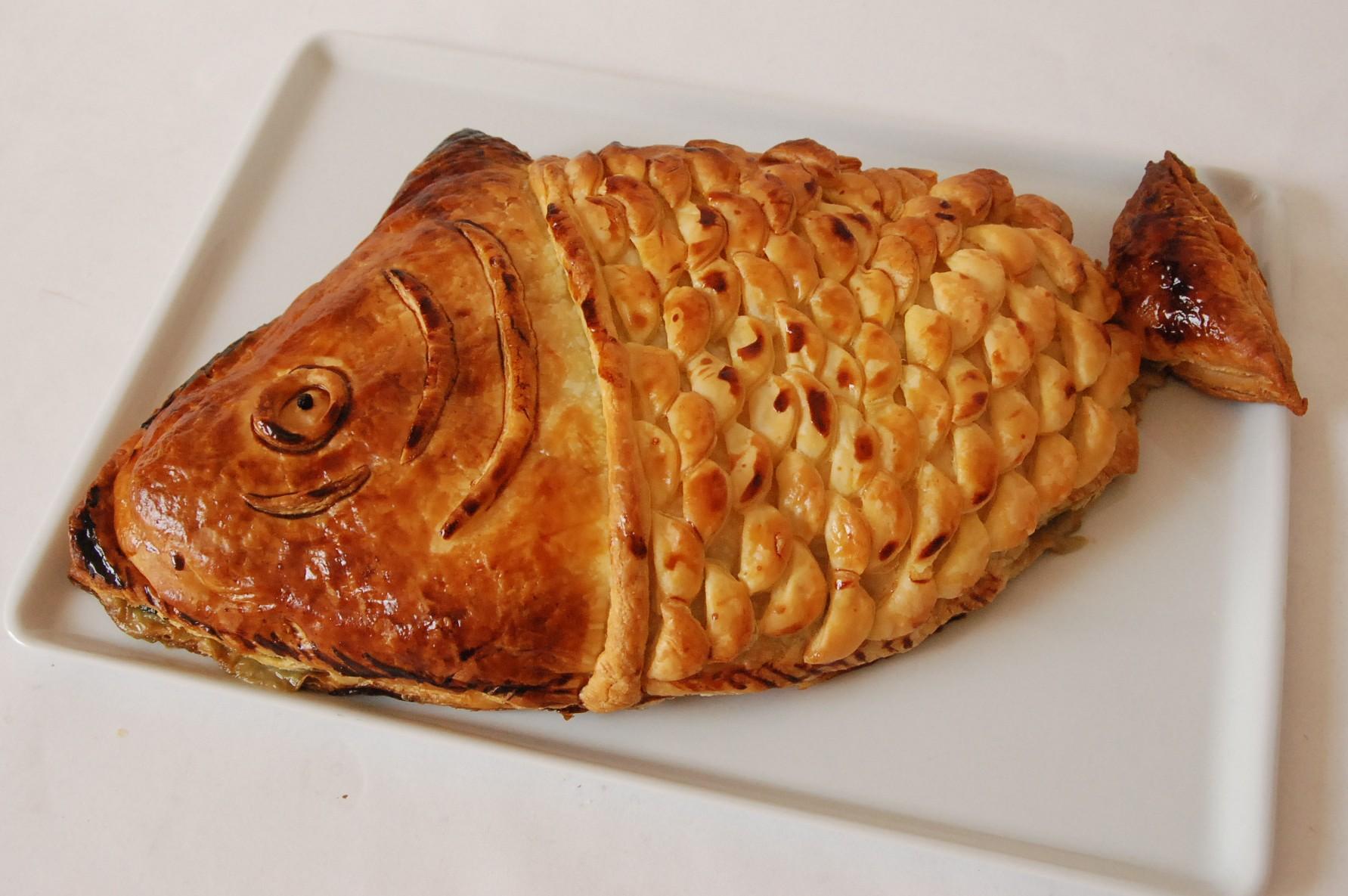 Koulibiac - Saumon en croûte