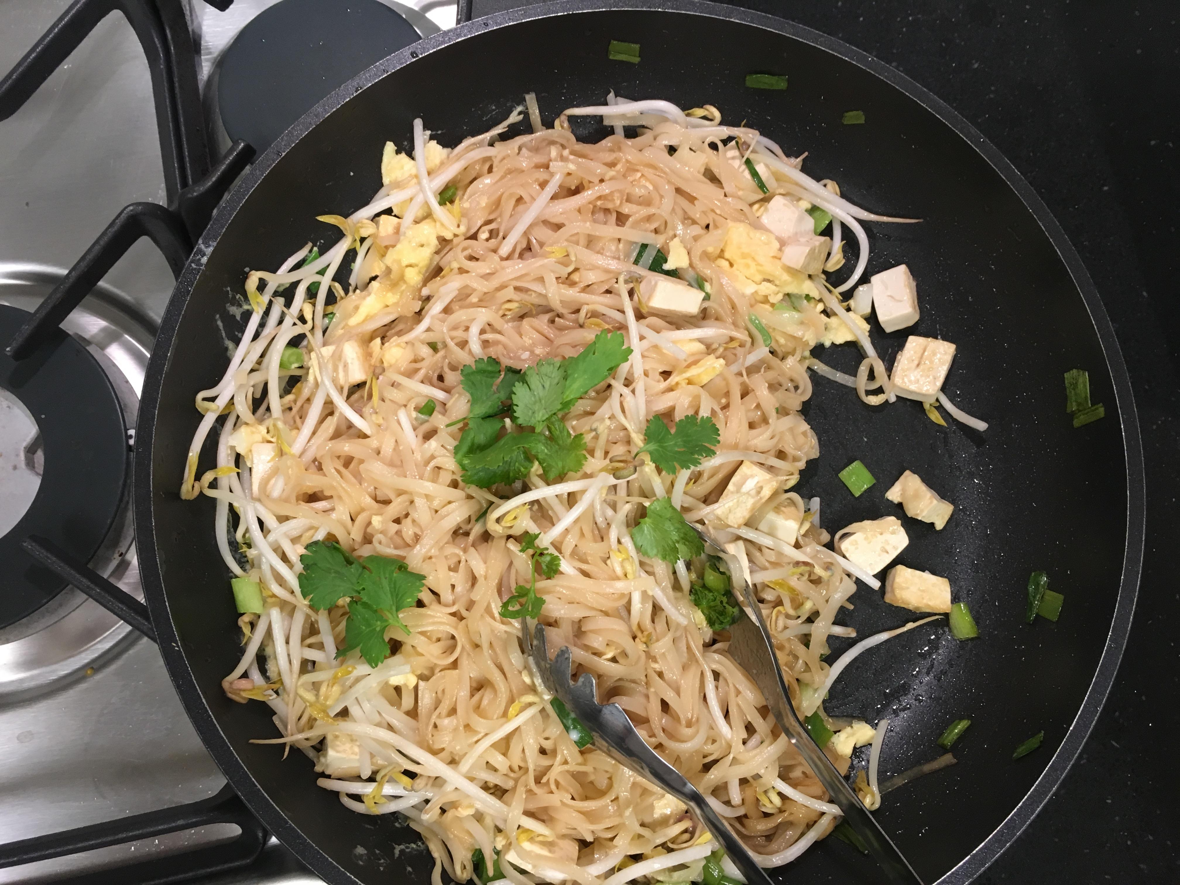 Pad thai au tofu