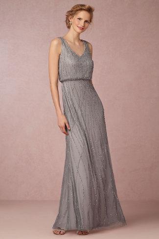 Robe Demoiselles Honneur Temoins | Mariage Juif| Brooklyn Grey