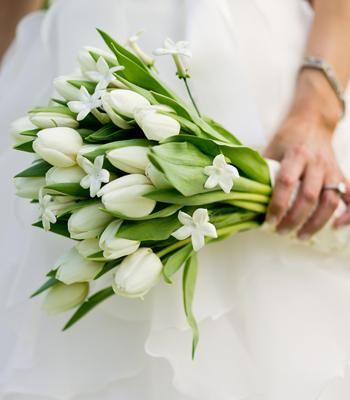 Fleurs mariage juif   Bouquet Tulipes
