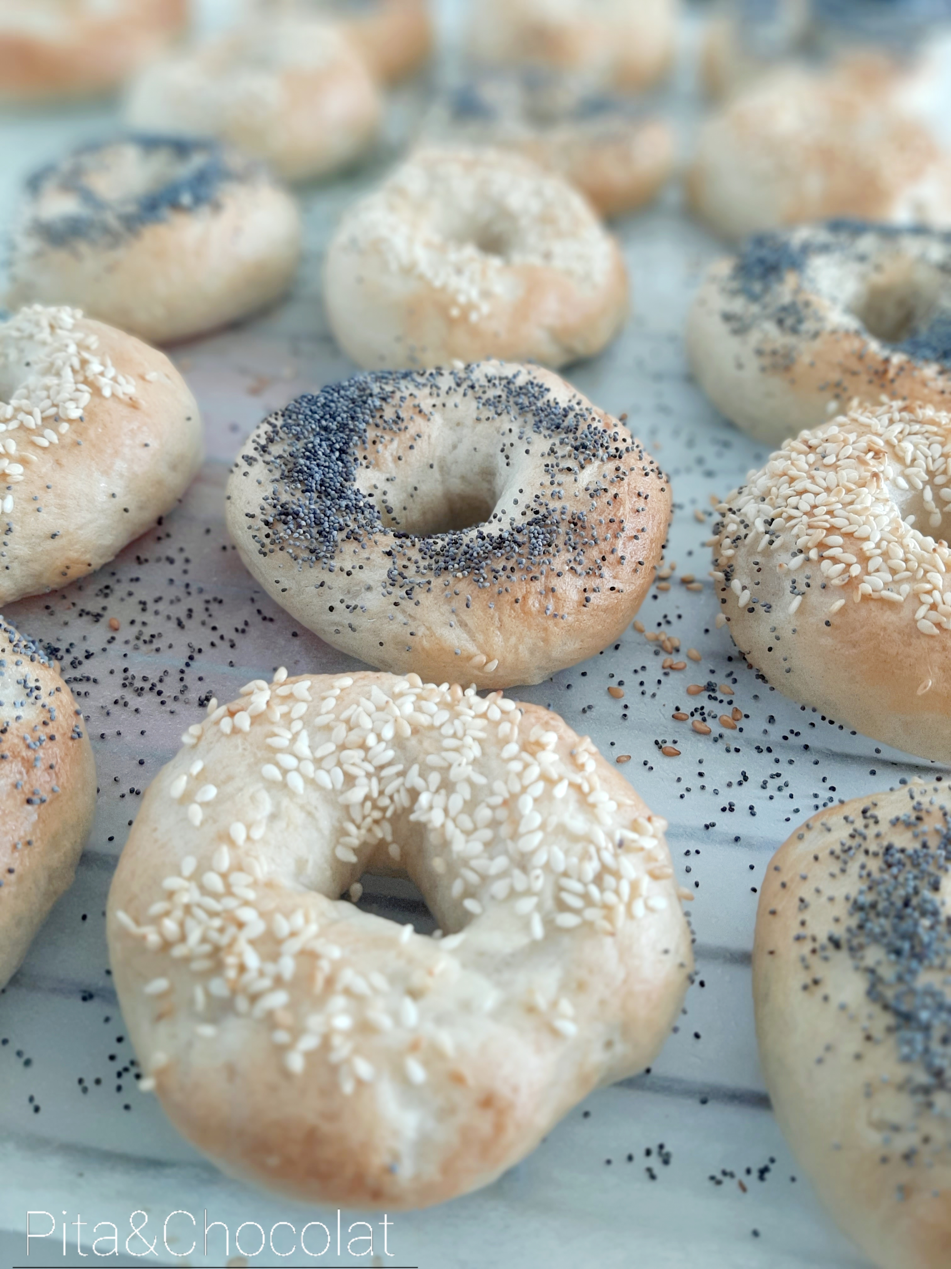 Bagel maison - New York style bagel