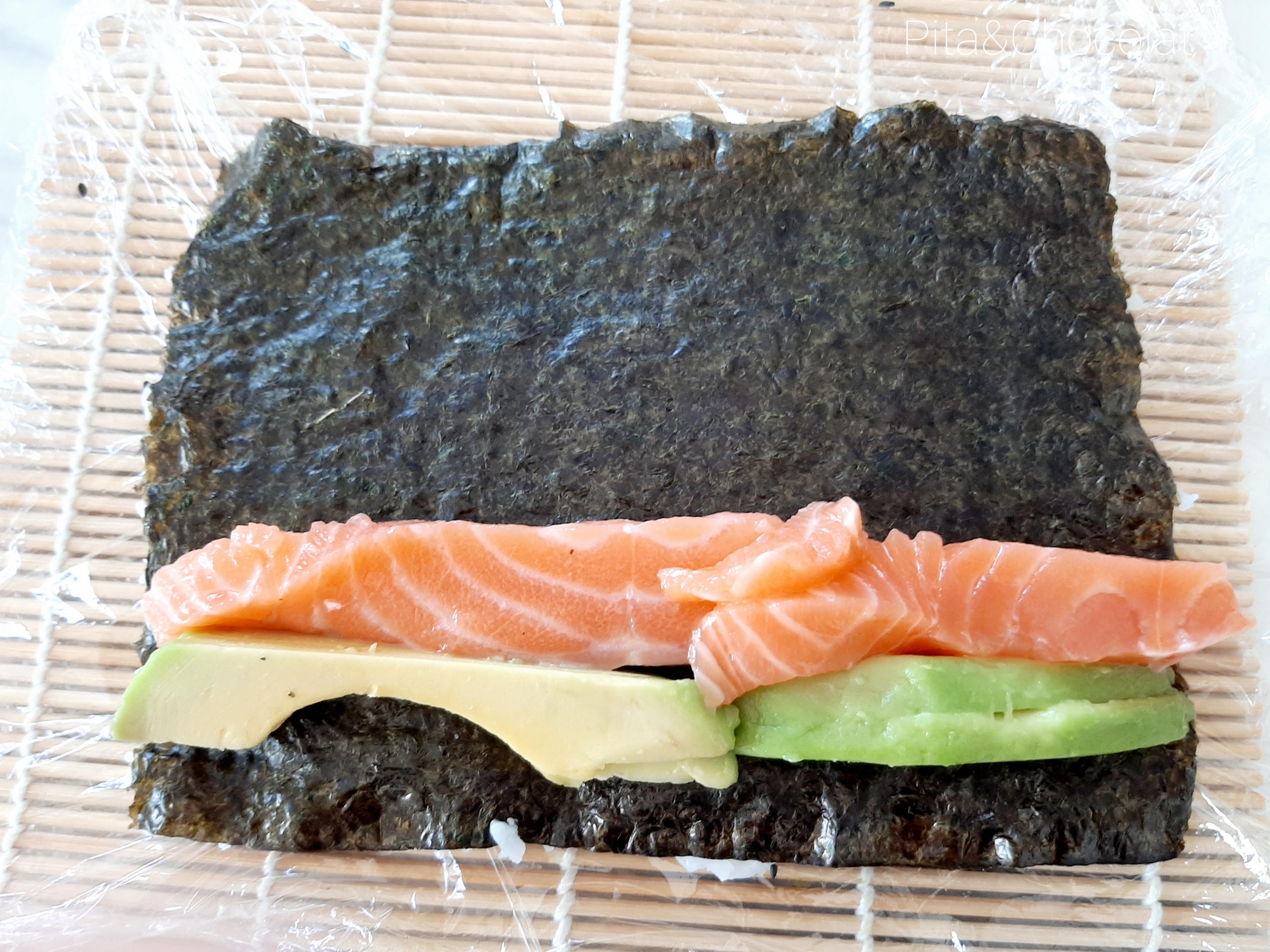 Makis California saumon