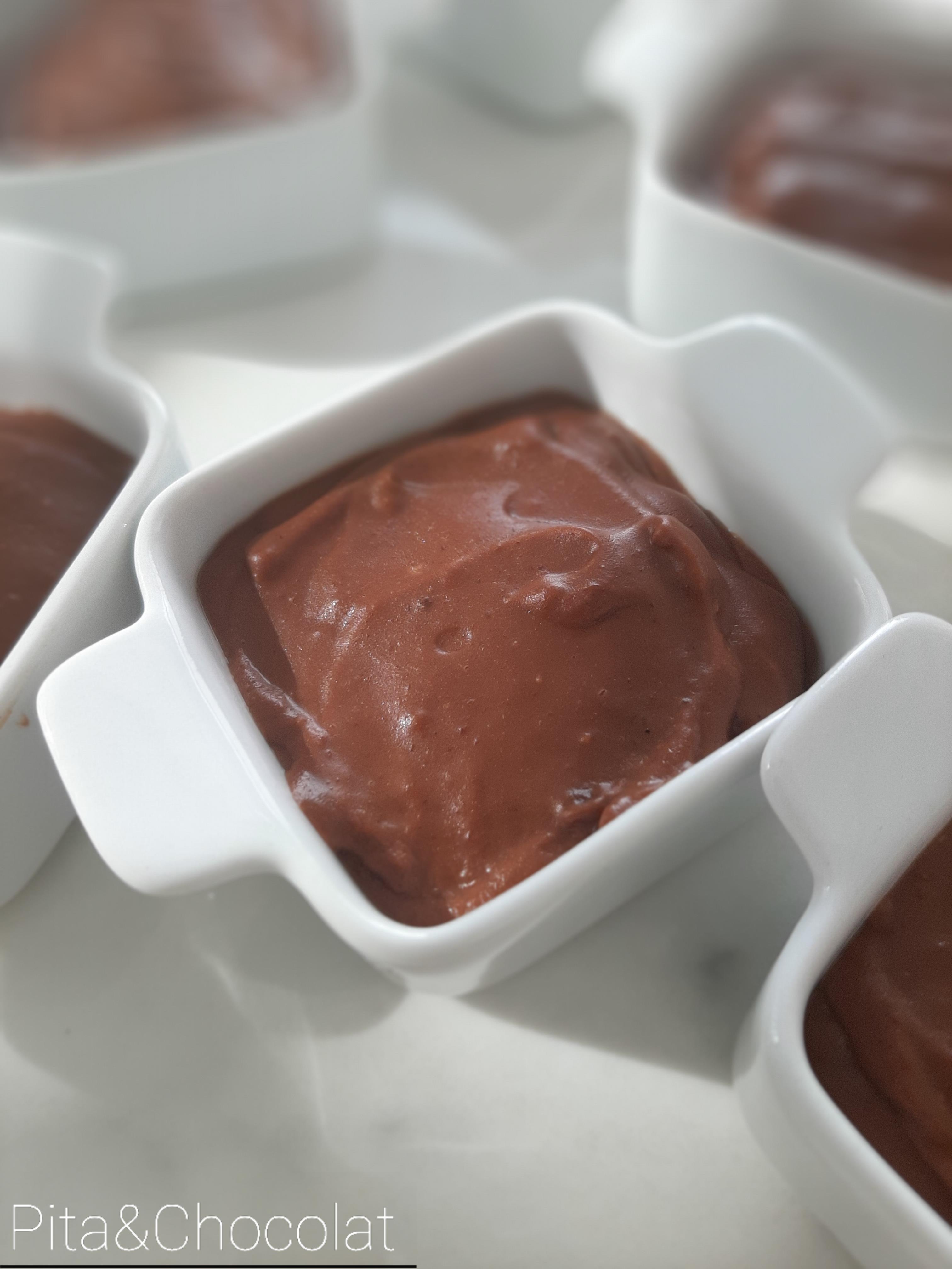 Crèmes dessert chocolat praliné