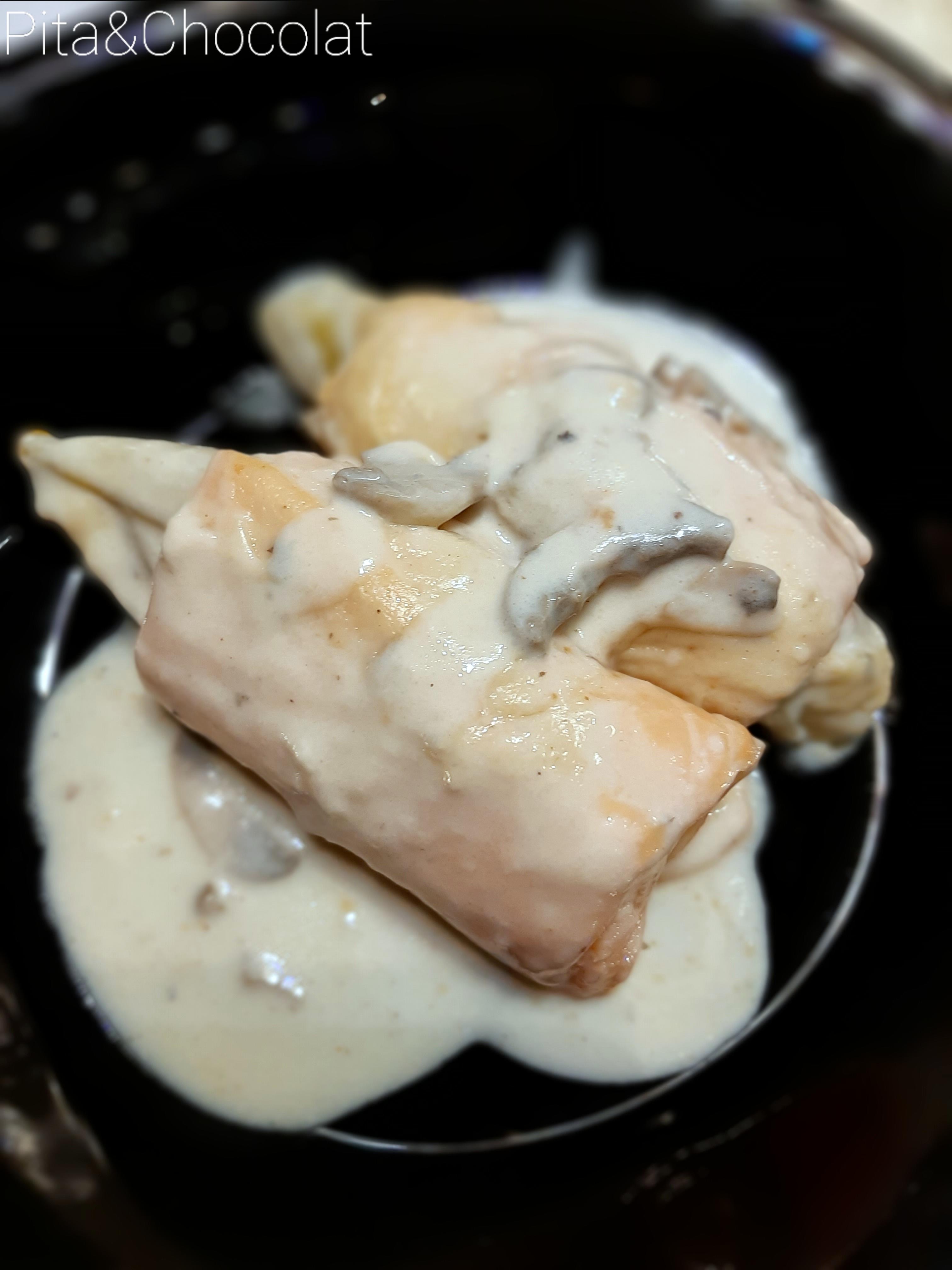 Endives gratinées au saumon