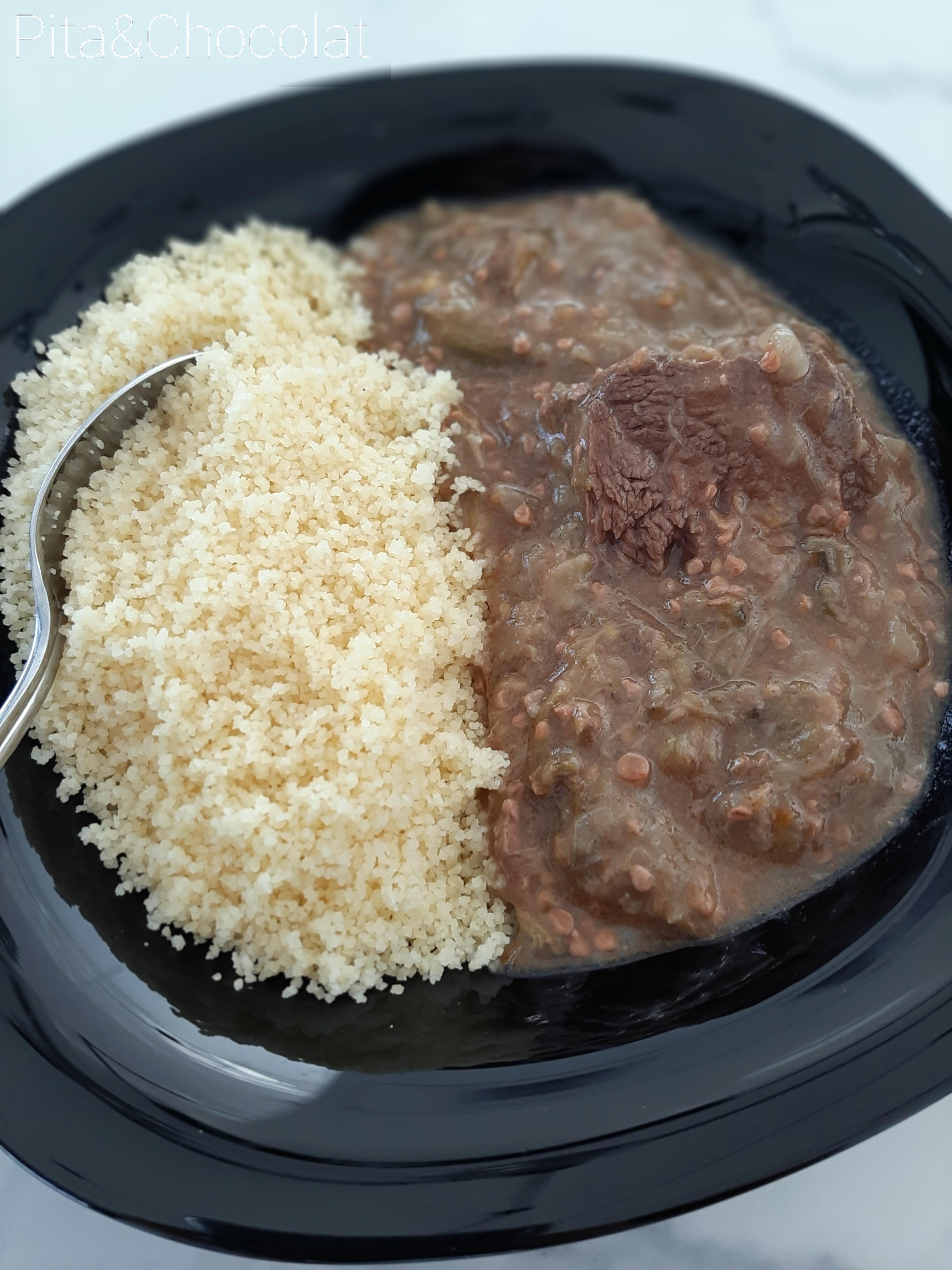 Gnaouia - Ragoût de gombos à la viande
