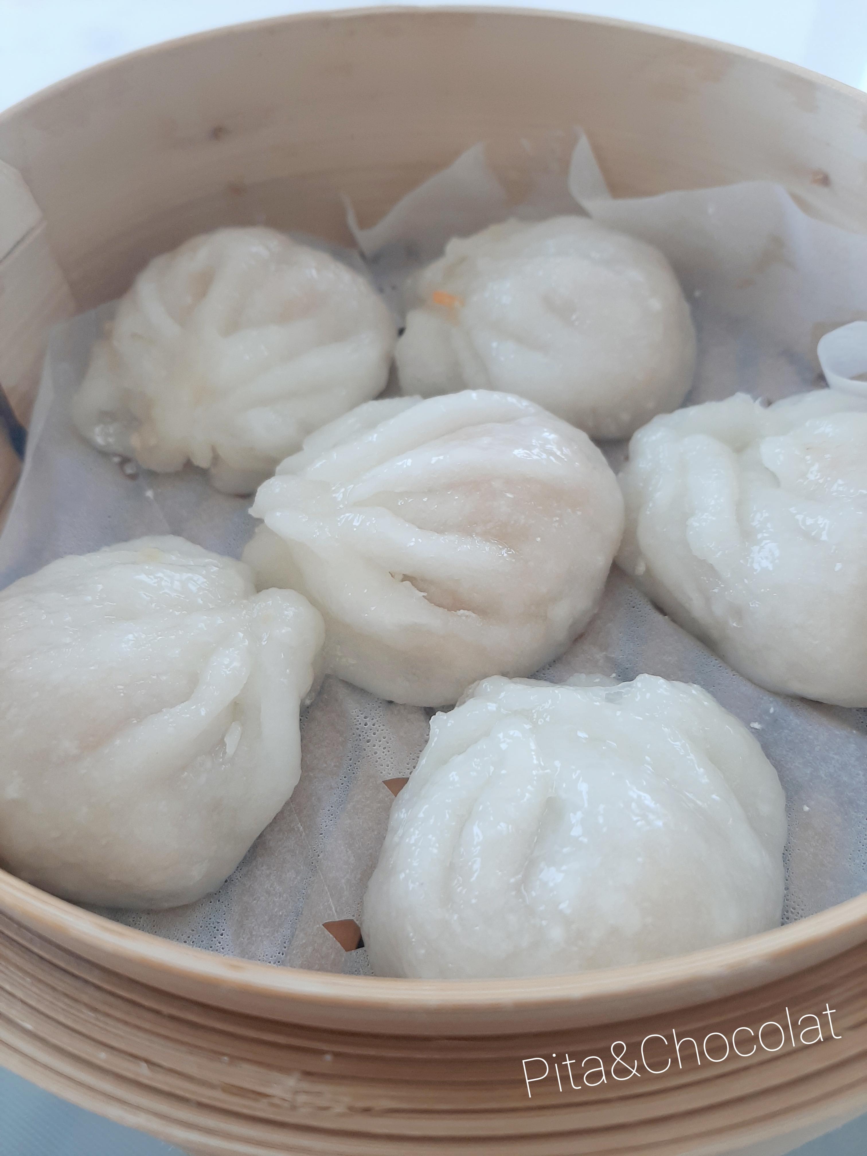 Ha Kao - Raviolis vapeur chinois aux crevettes
