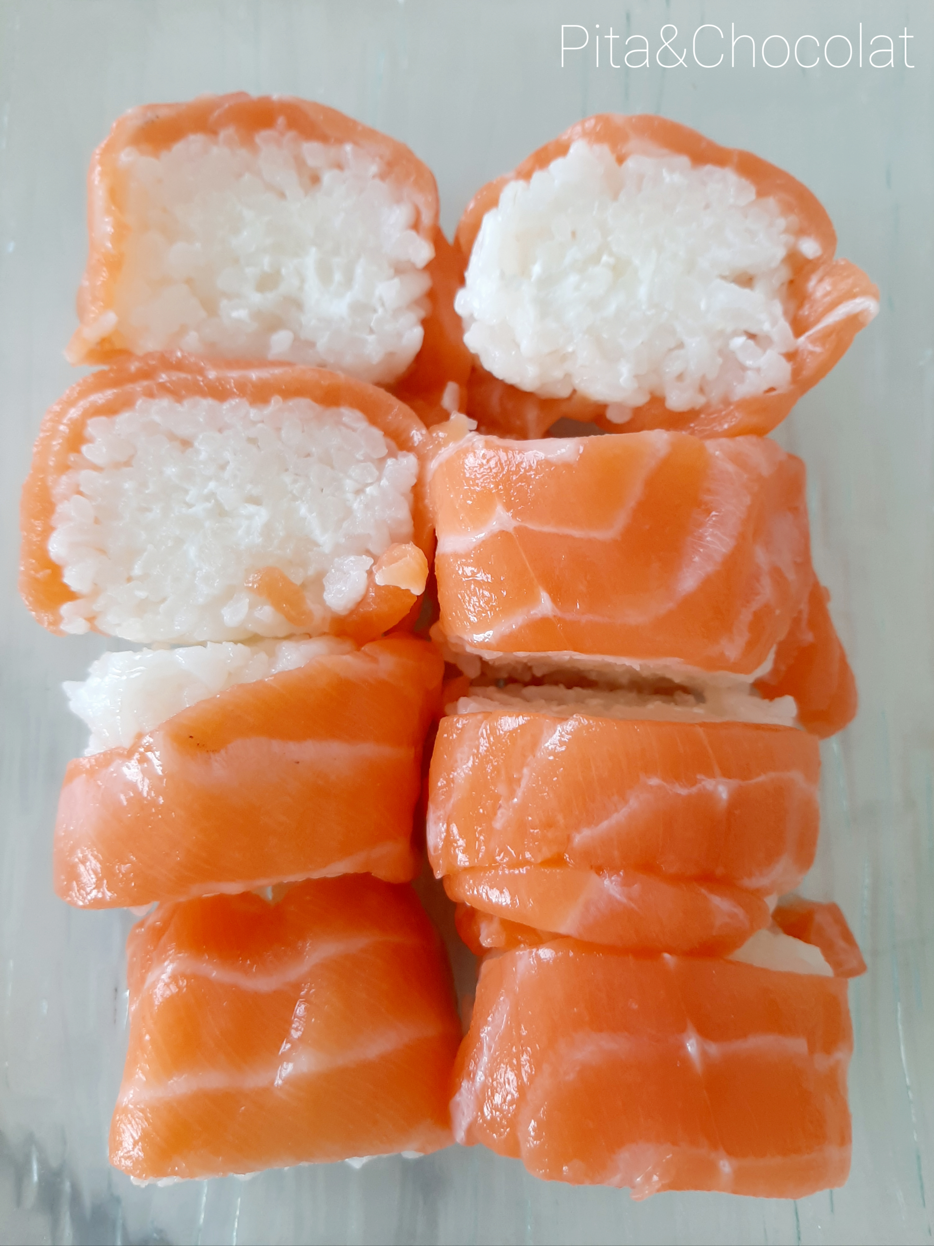 Makis saumon cheese
