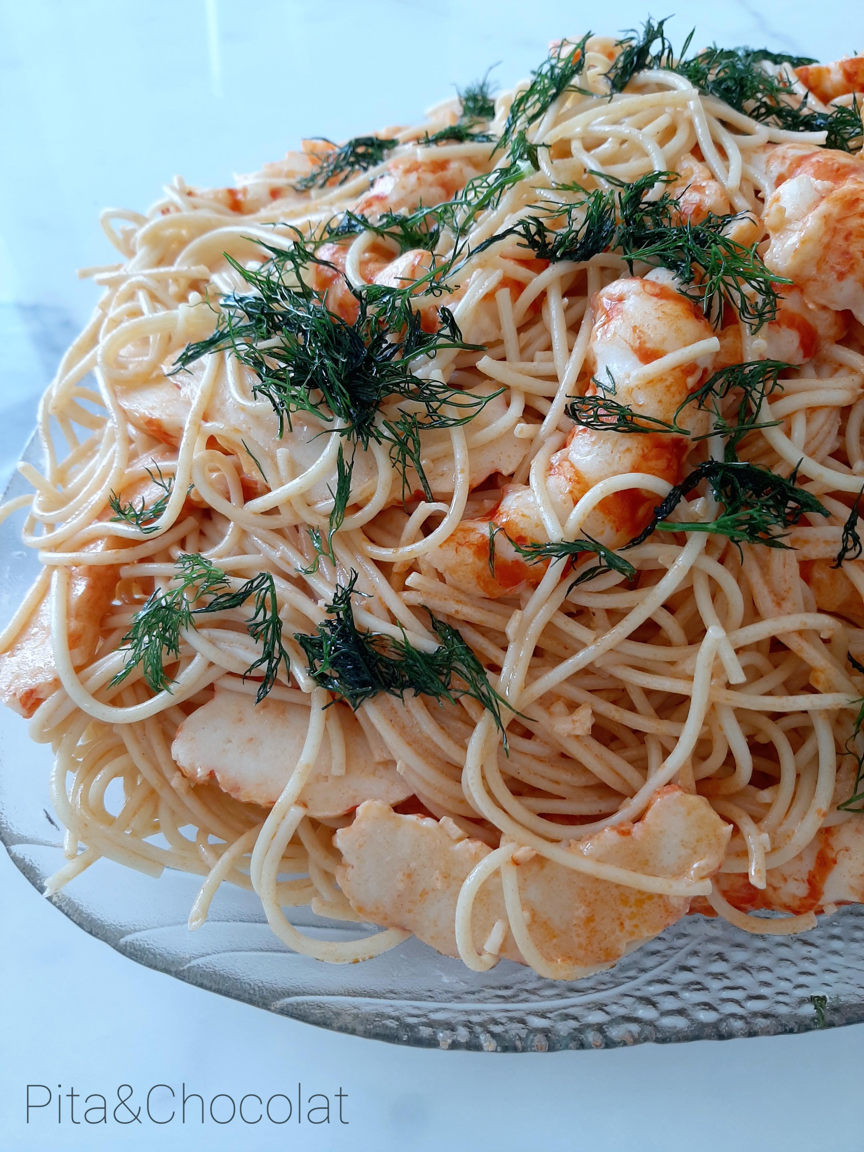 Spaghetti de la mer - pasta del mare