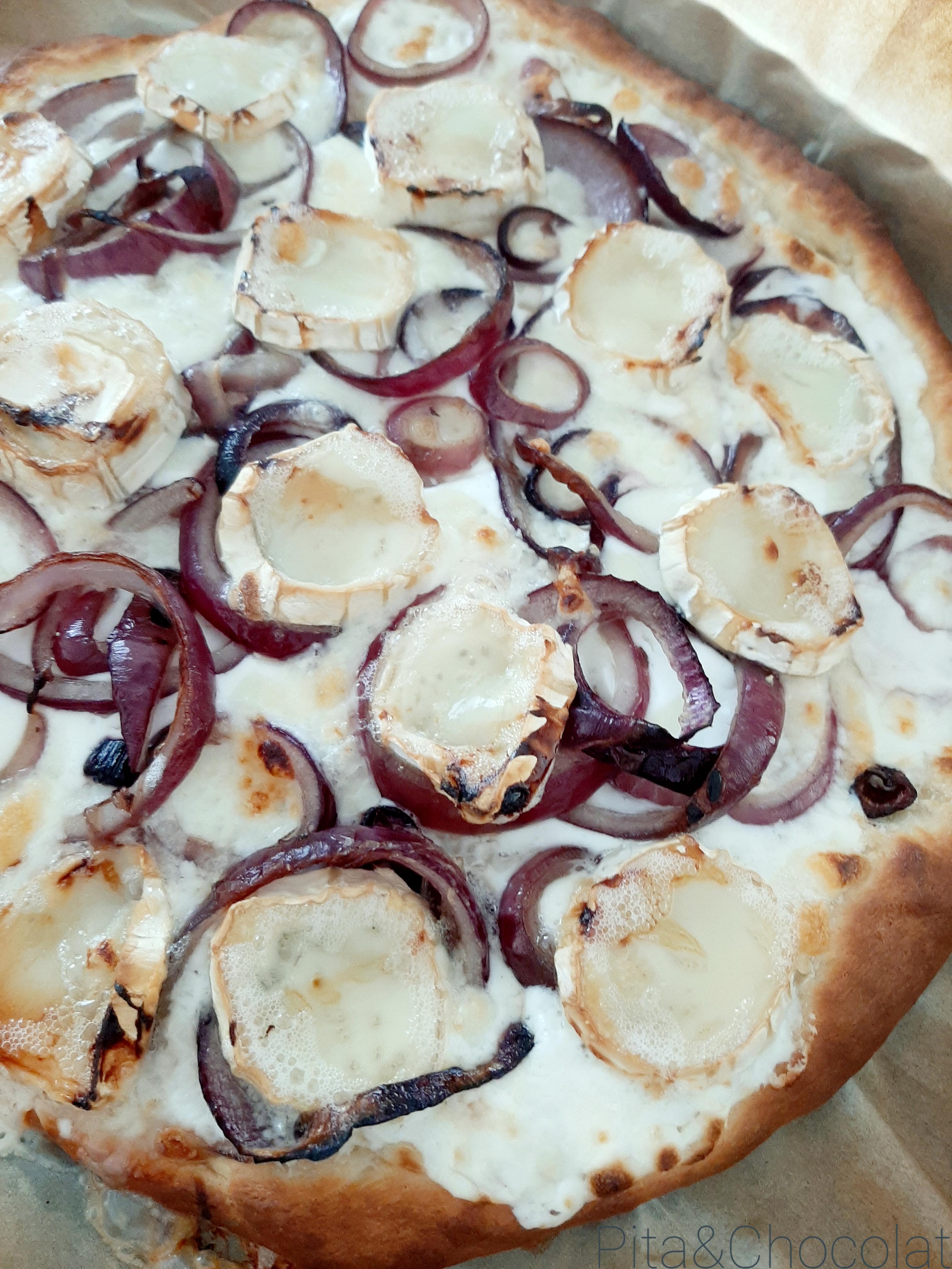 Pizza blanche - pizza bianca
