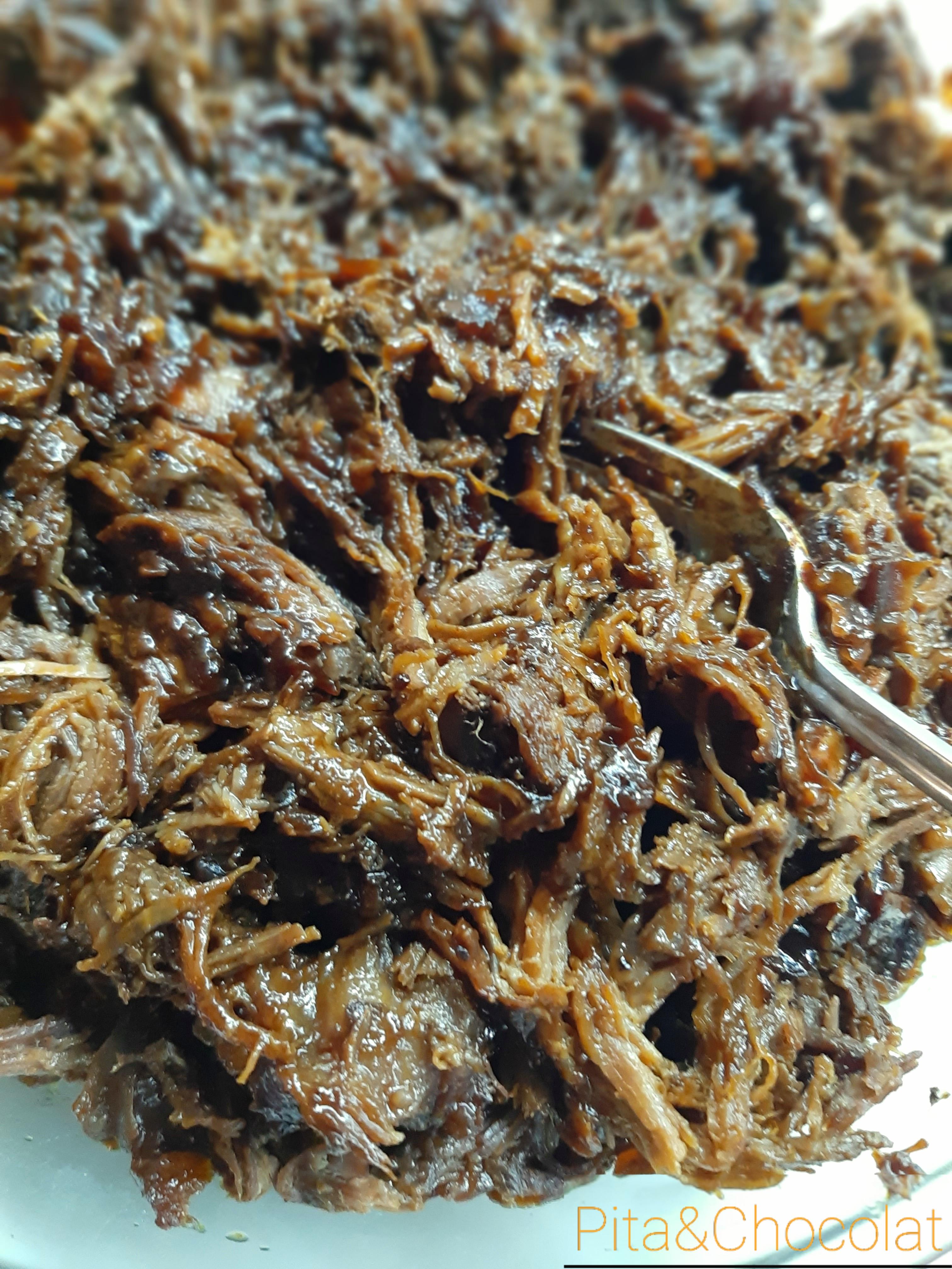 Effiloché de bœuf - pulled beef