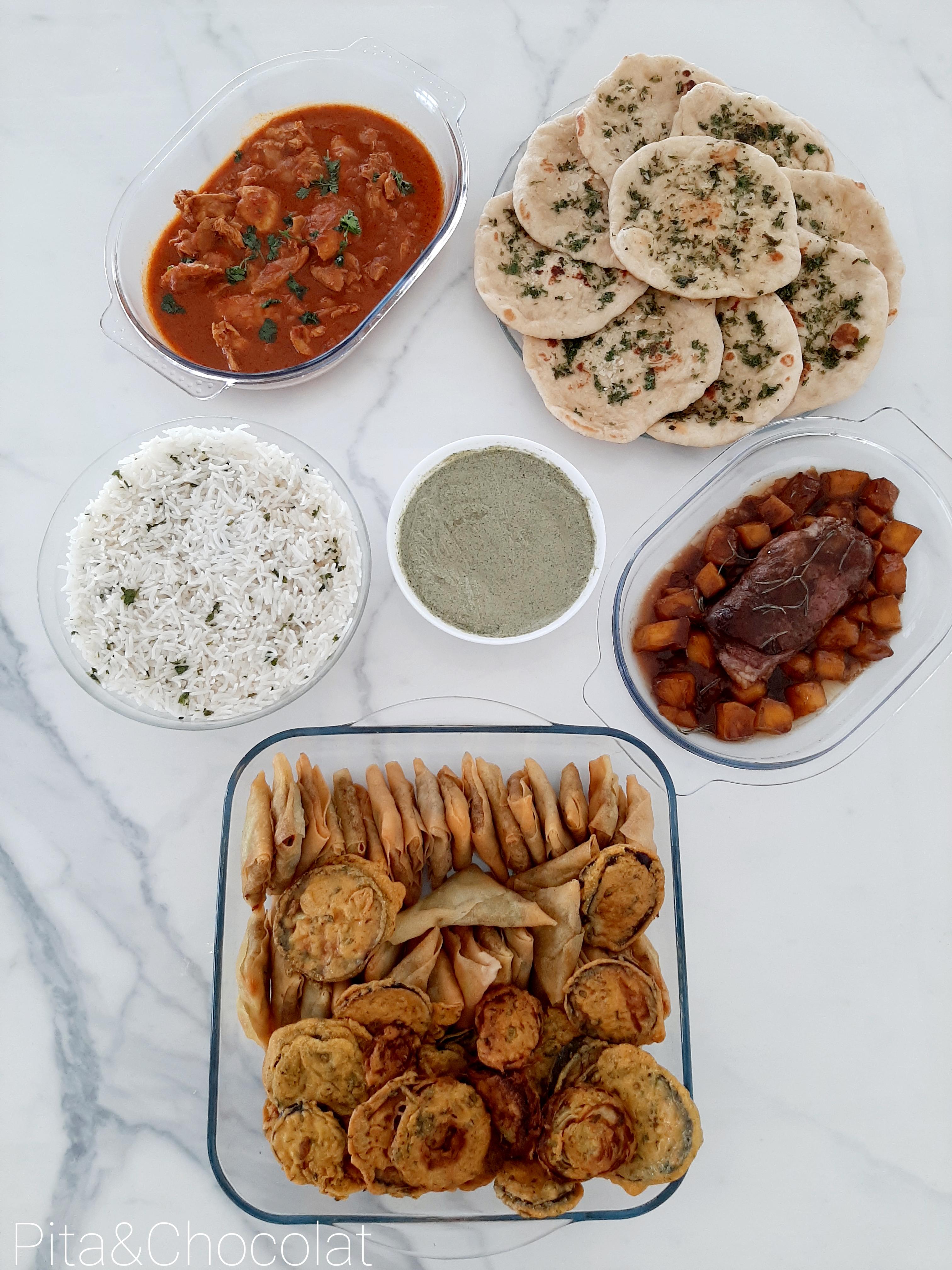 Bollywood party: réaliser un repas indien fait maison