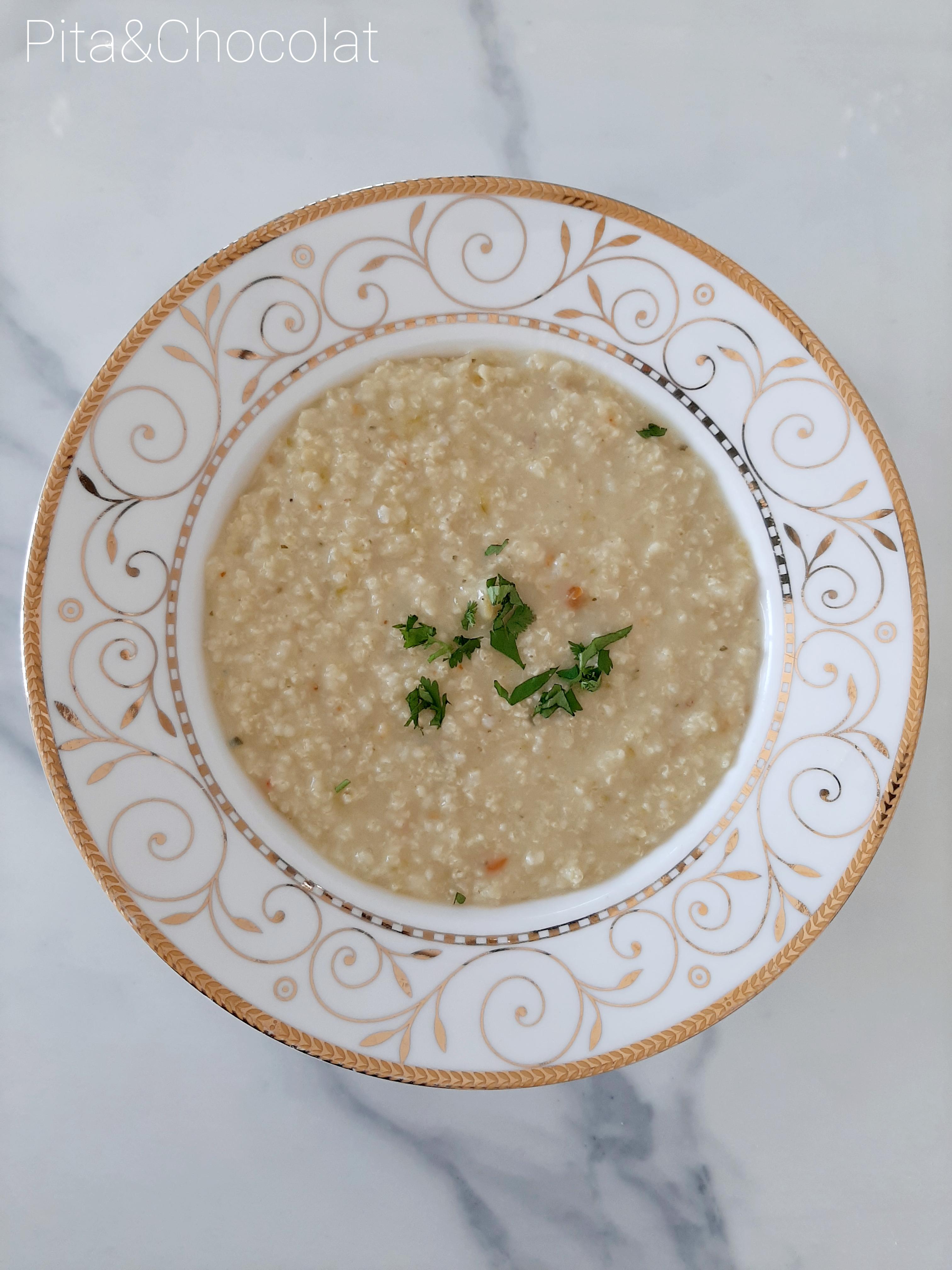 Risotto de millet aux courgettes et curry