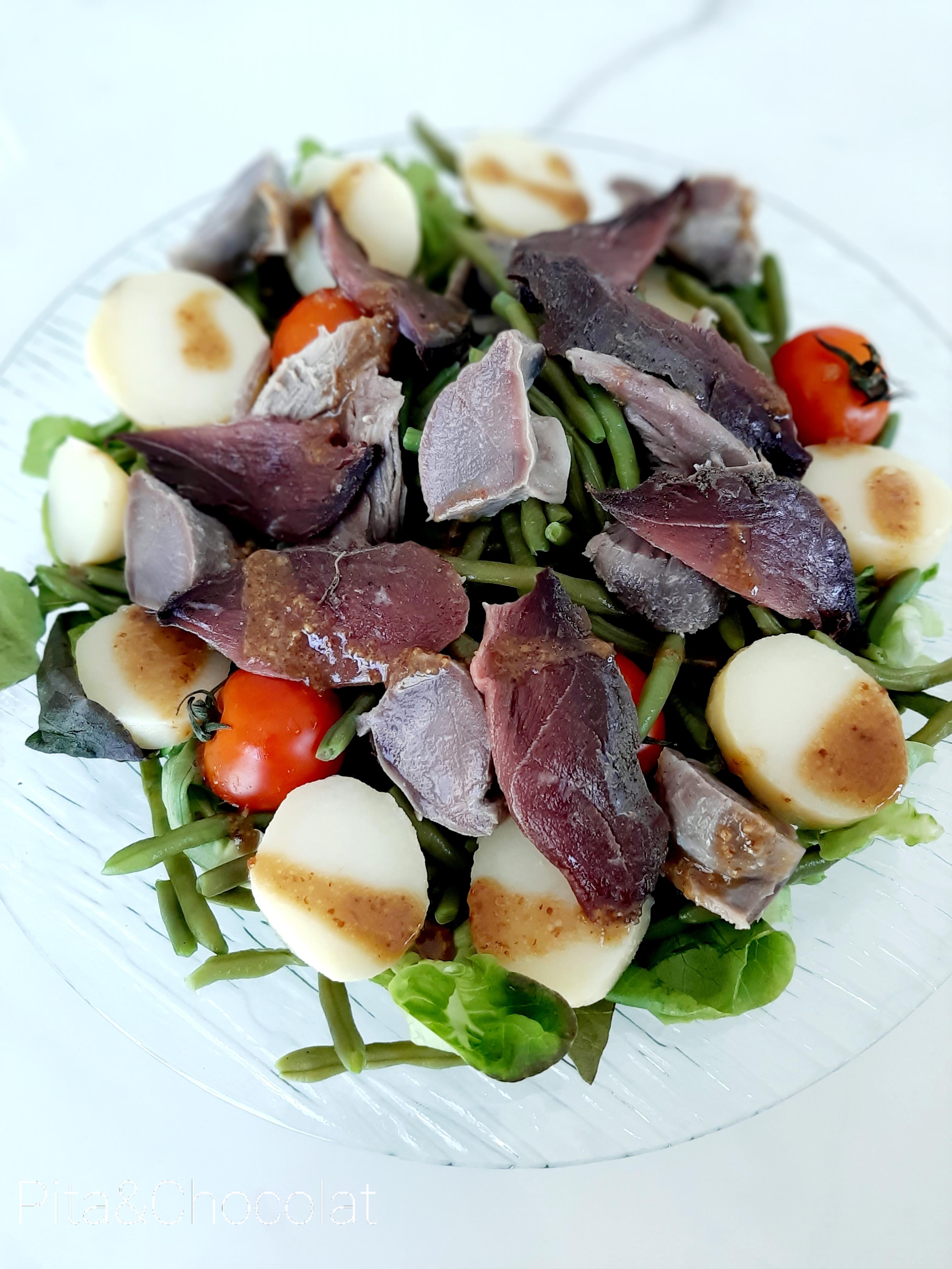 Salade Sud-Ouest (façon salade périgourdine - salade landaise)