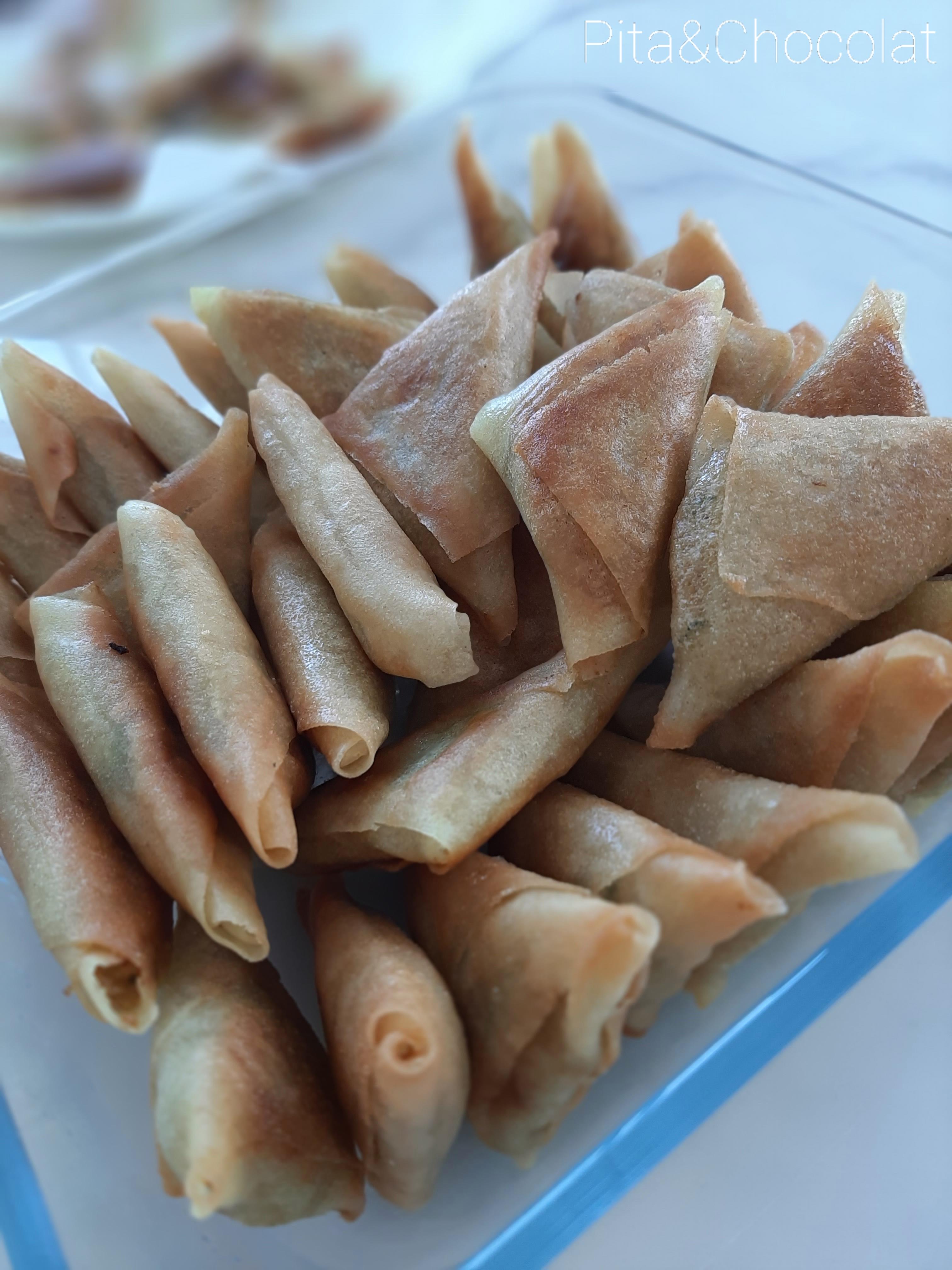 Samoussas végétariens - Triangles indiens aux légumes