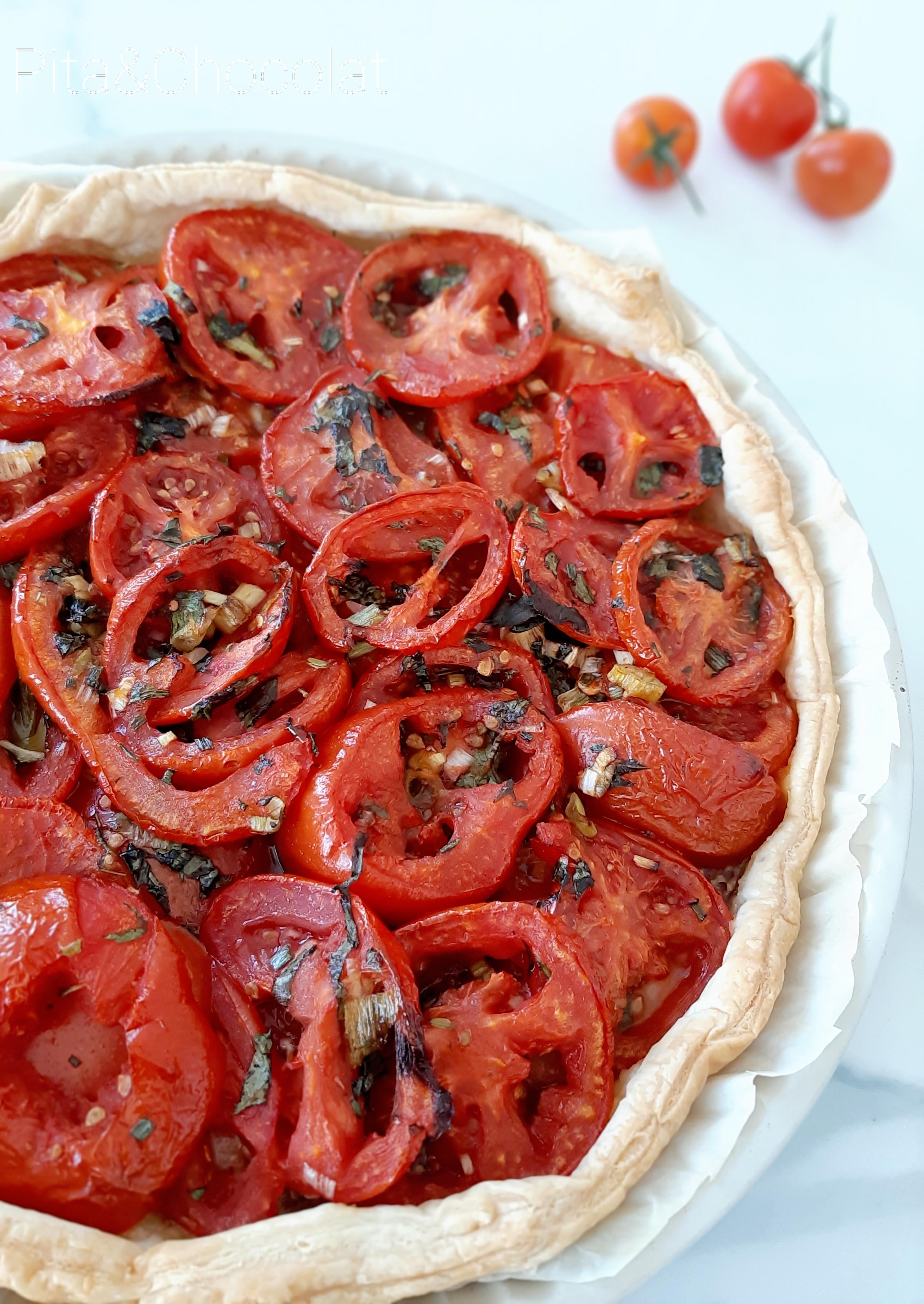 Tarte à la tomate