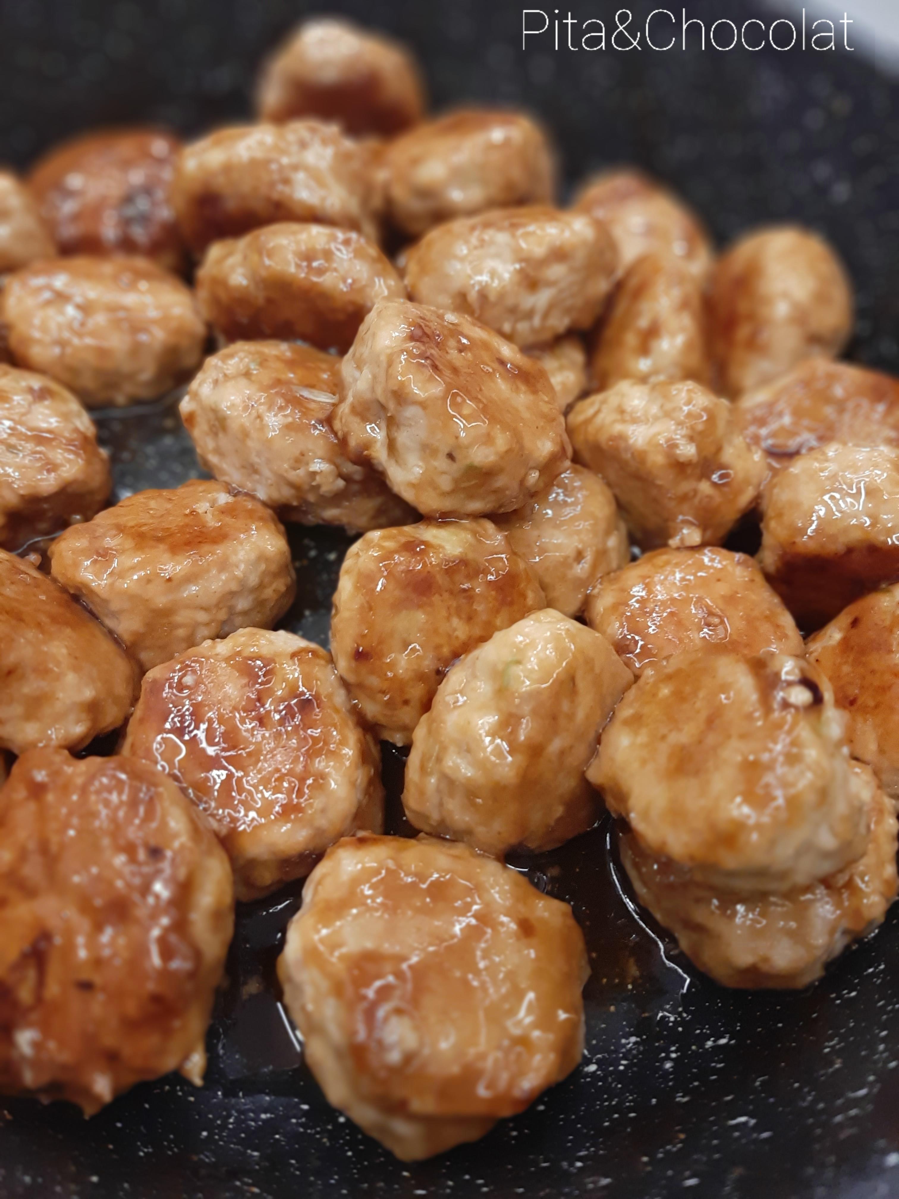 Boulettes de poulet yakitori - Tsukune