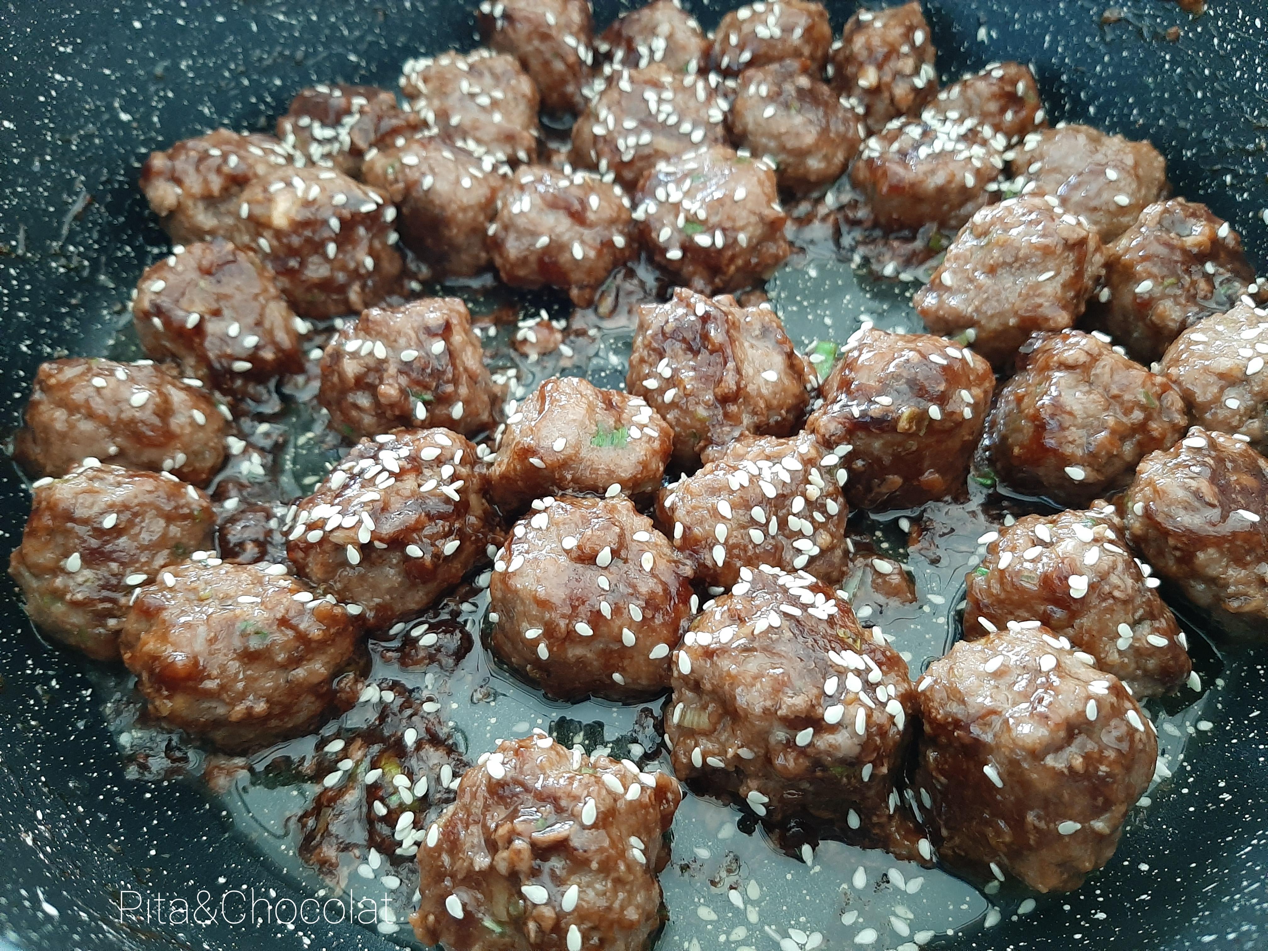 Boulettes de bœuf japonaises - Tsukune