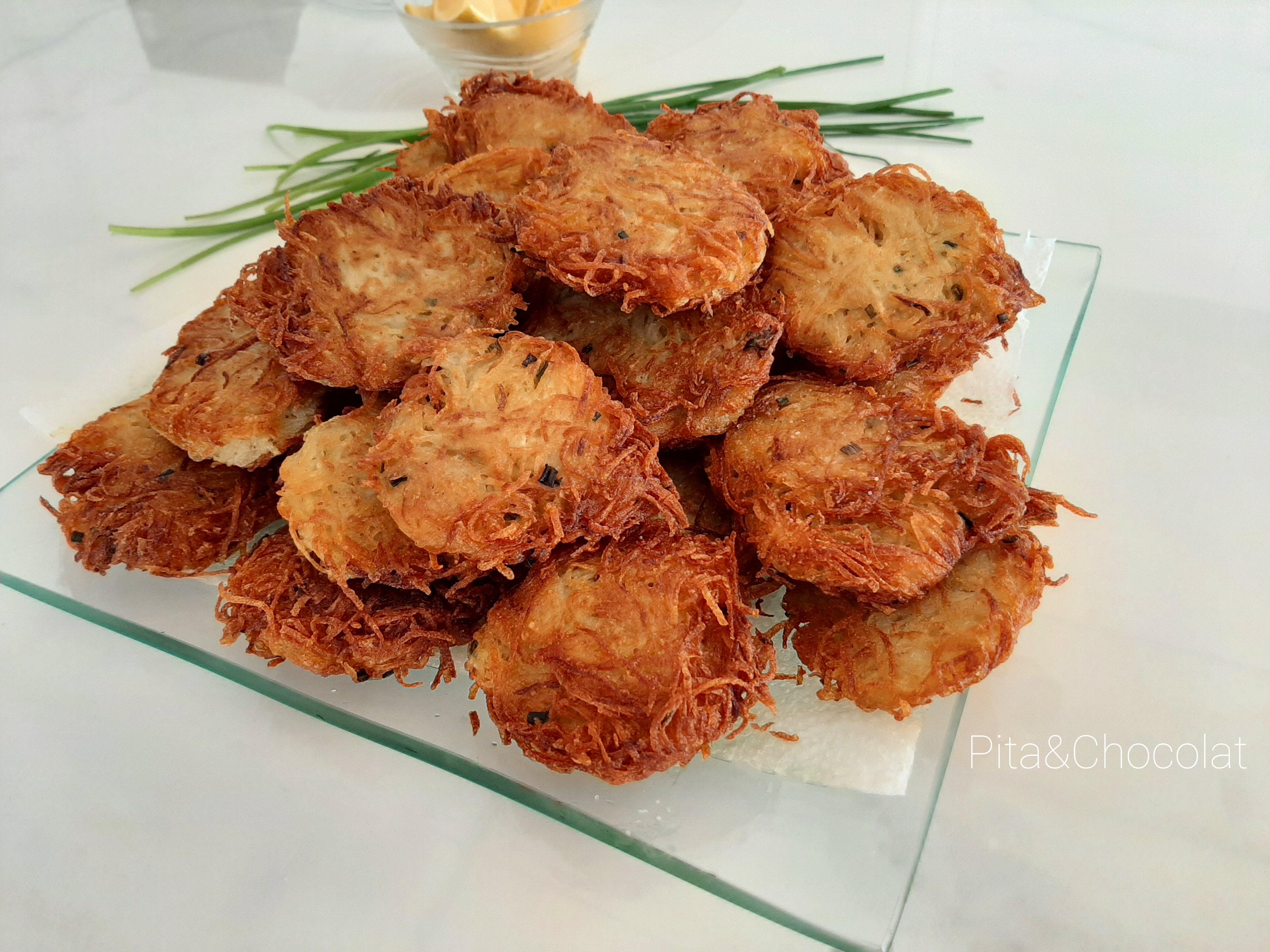 Latkes - Galettes de pommes de terre