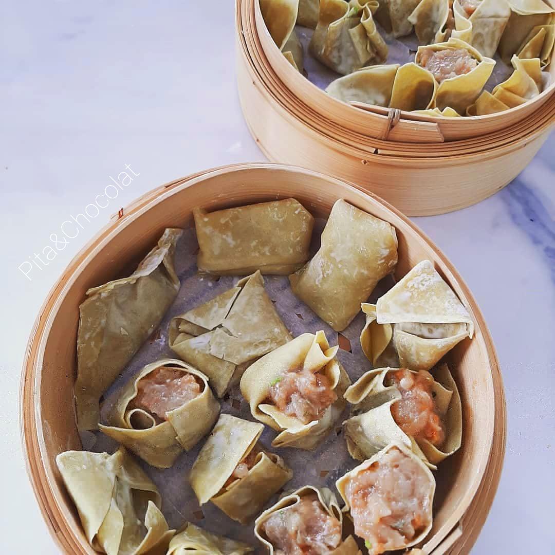 Bouchées vapeur chinoises au poulet (Siu Mai)