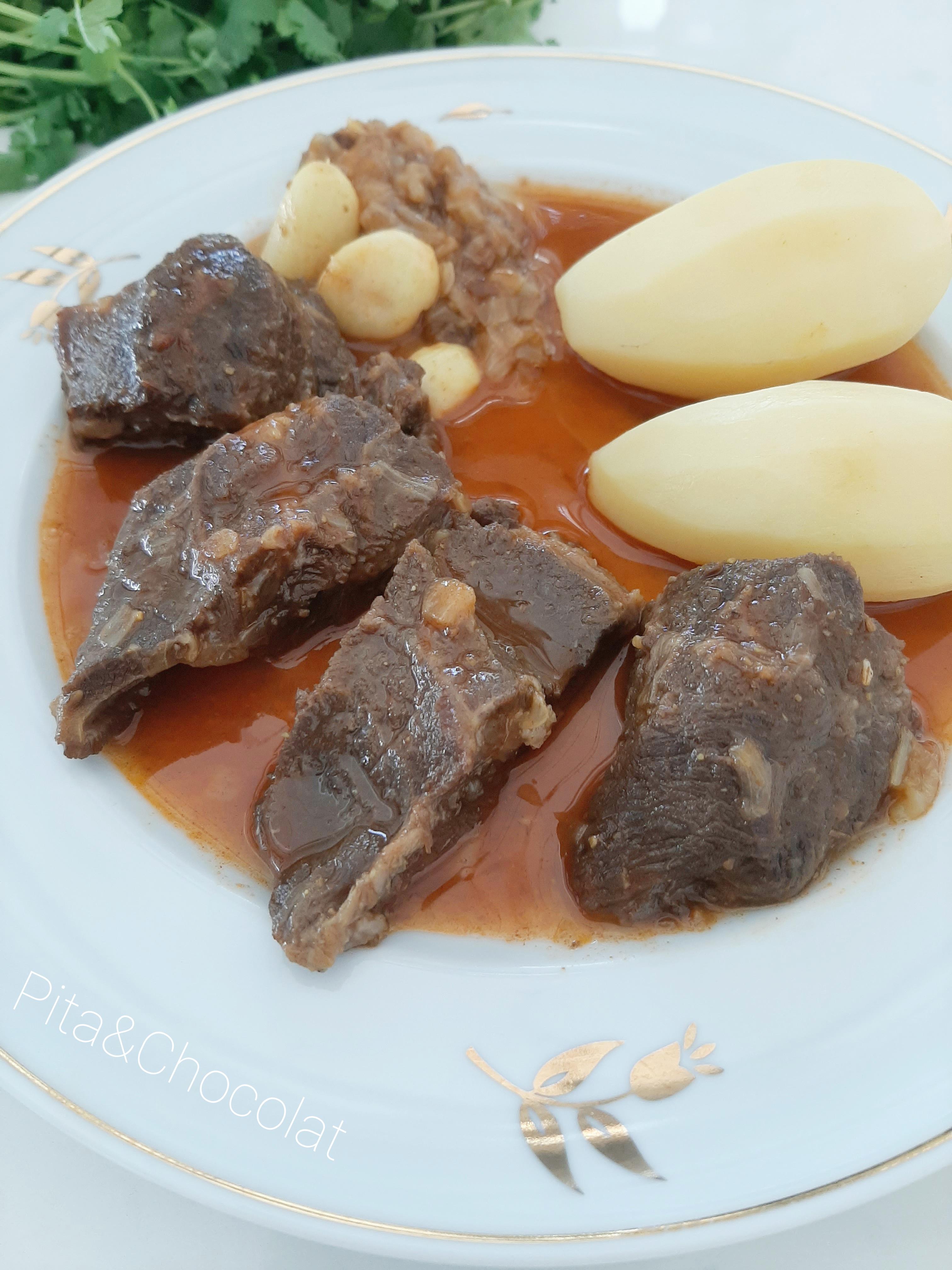 Joue de bœuf sauce onctueuse au cumin