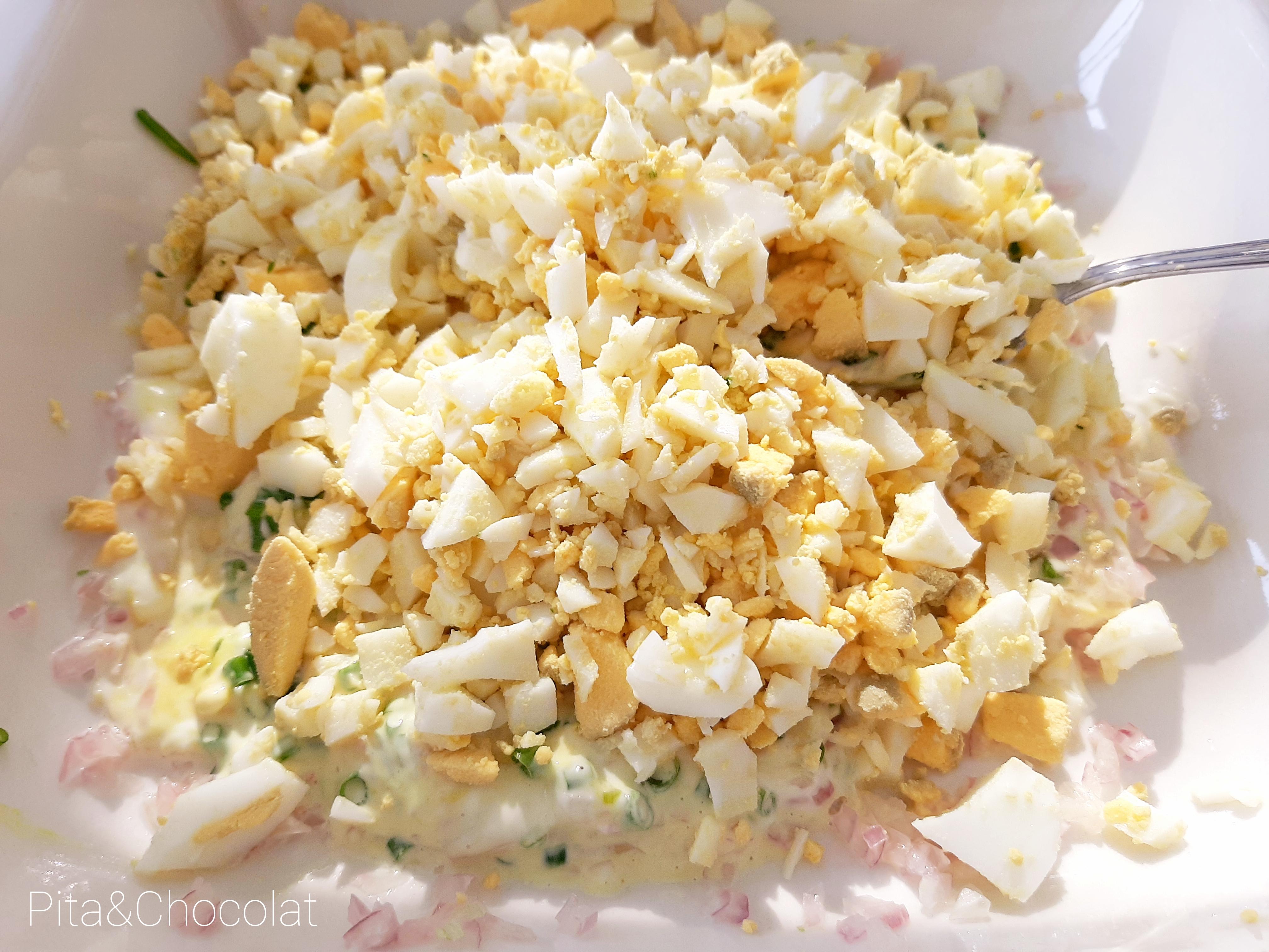 Salade d'œufs - Egg salad
