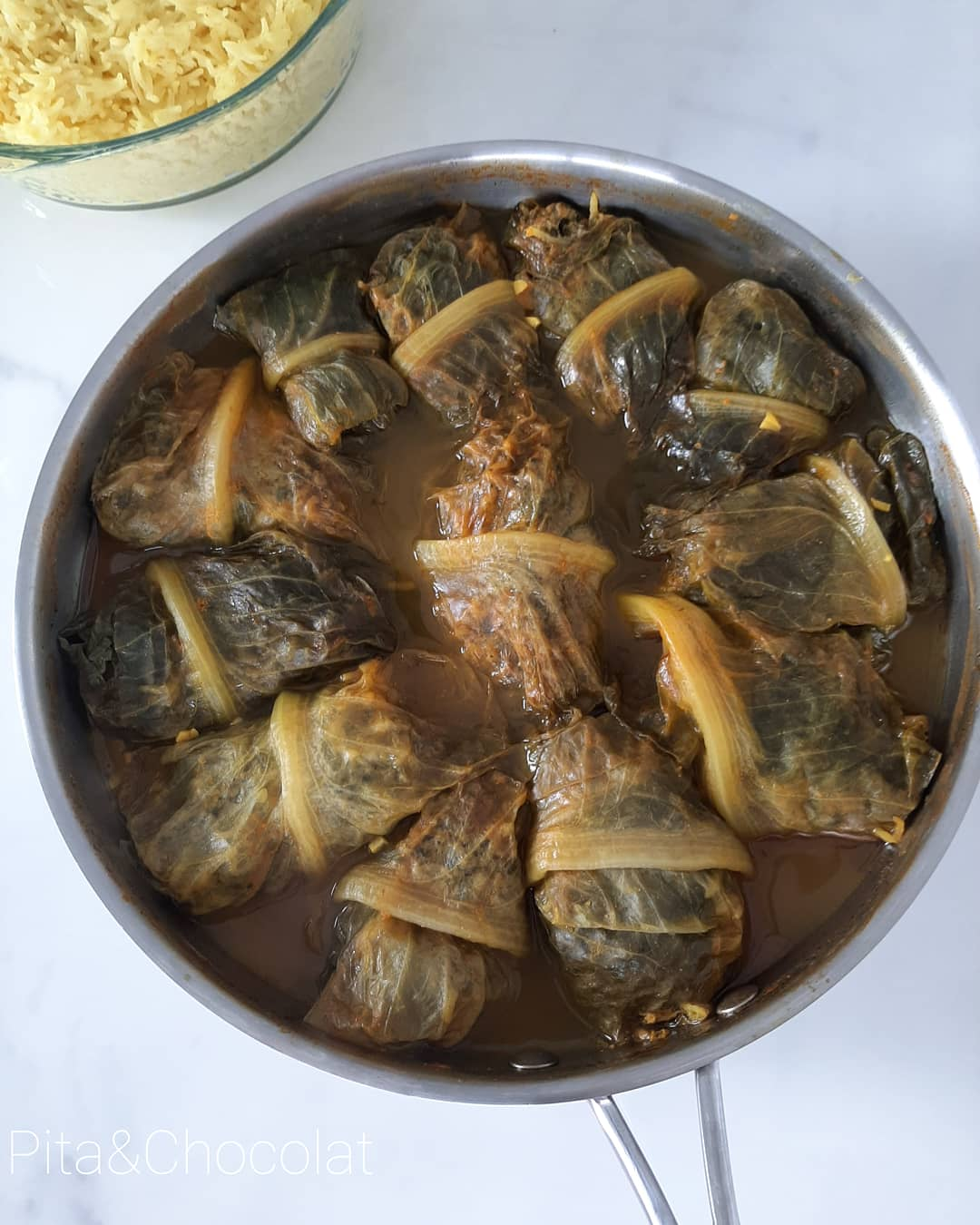 Yabrak - Romaine farcie à la viande